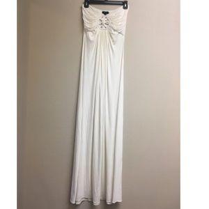 Sky Maxi Dress White Medium